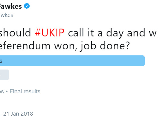 83% Think UKIP's Finished