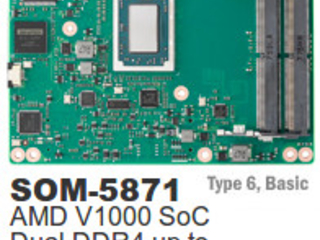 Module reveals new AMD Ryzen Embedded V1000 SoC