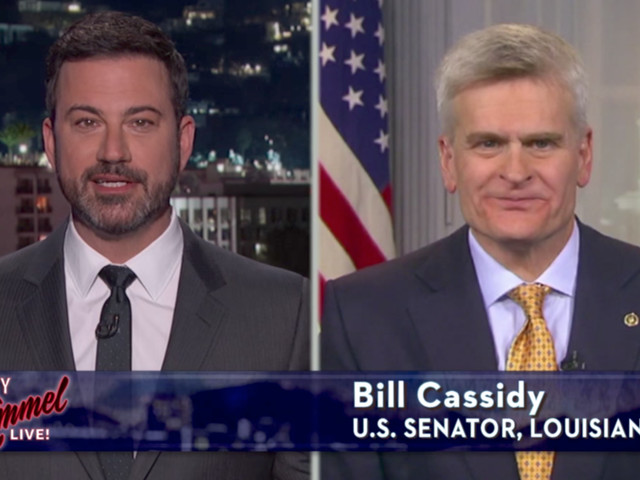 Sorry, Sen. Cassidy: Experts say it's you, not Jimmy Kimmel, who's wrong about your healthcare bill