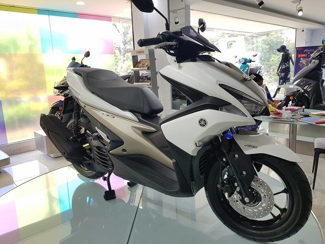 Yamaha Aerox 155 Goes On Display At A Showroom In India; Not Available For Sale