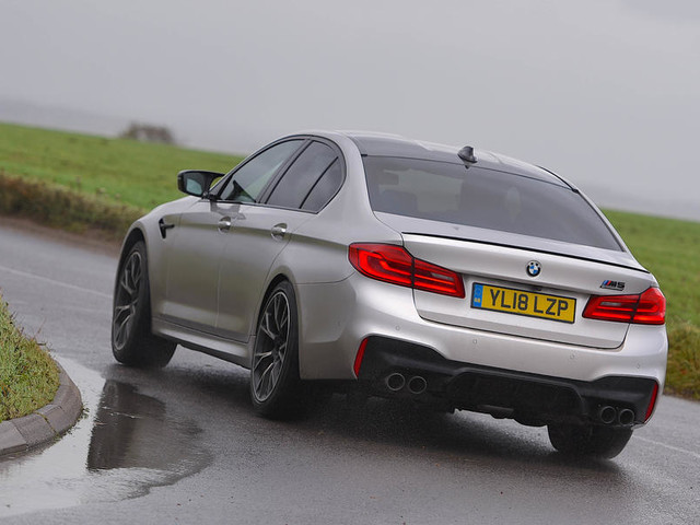 BMW M5 Competition 2018 UK review