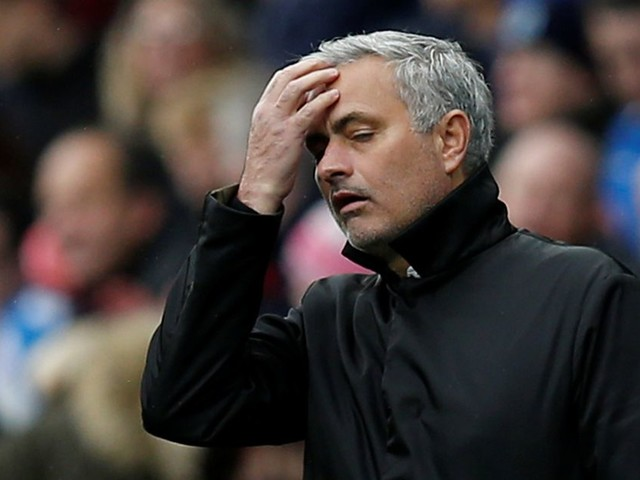 Jose Mourinho slams Manchester United's attitude after defeat at Huddersfield: ''We deserved to lose''