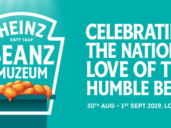 For 3-days only – visit a Heinz Beanz museum pop-up