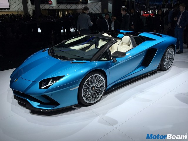 Lamborghini Aventador S Roadster Launched, Priced At Rs. 5.79 Crores