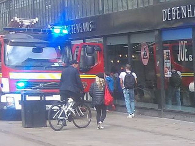Large police response as bin fire blocks Metrolink services in Manchester city centre