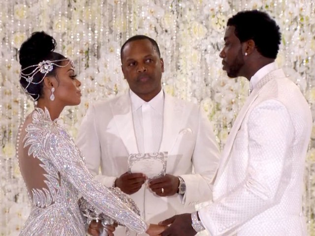 This Guest Broke Gucci Mane's Strict Wedding Dress Code