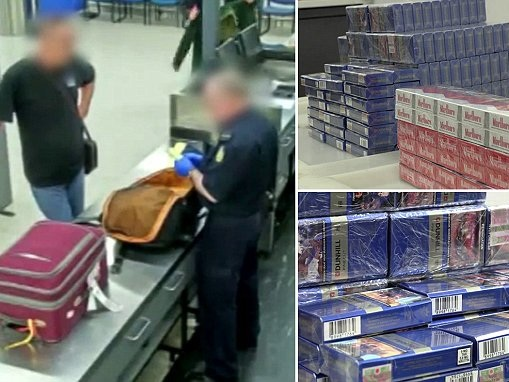 Man is fined almost $35,000 for trying to smuggle 40 cartons of cigarettes through Perth Airport