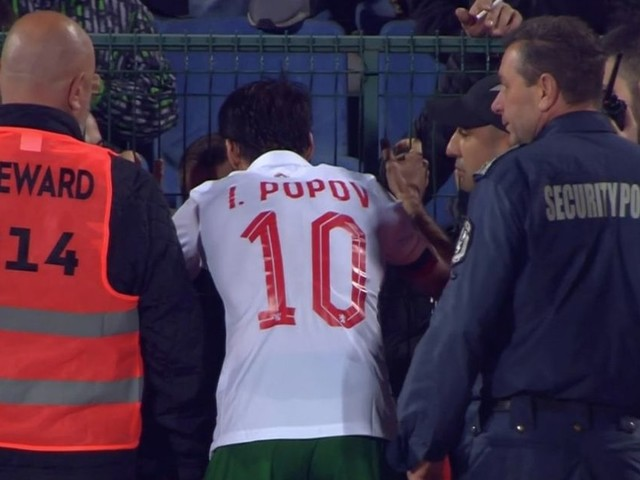 """Marcus Rashford hails """"courage"""" of Bulgaria captain Ivelin Popov after he pleaded with fans to stop racist chants"""