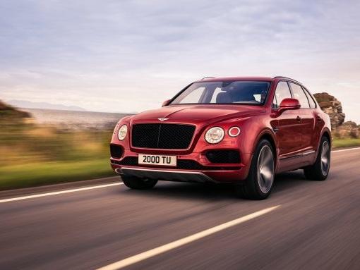 SUV-8: Bentley Bentayga Gets a 542-HP Twin-Turbo Eight-Cylinder
