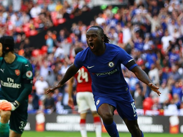 Victor Moses wins 2017 Nigerian Footballer of the Year award