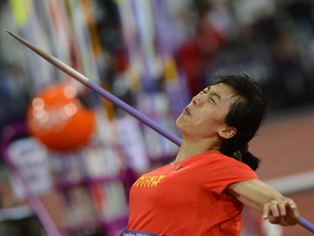 Lü throws Asian Athletics Championships record to win javelin gold in Doha