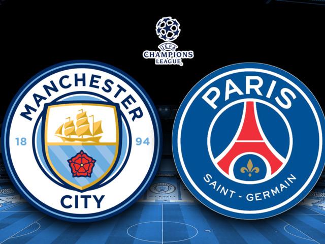 Manchester City vs PSG LIVE
