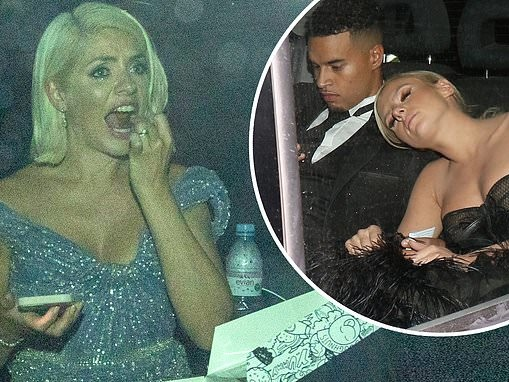 NTAs 2021: Love Island's Chloe Burrows leads bleary-eyed stars leaving after-party