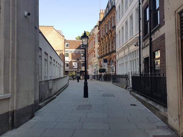 London's Alleys:Warwick Court, WC1