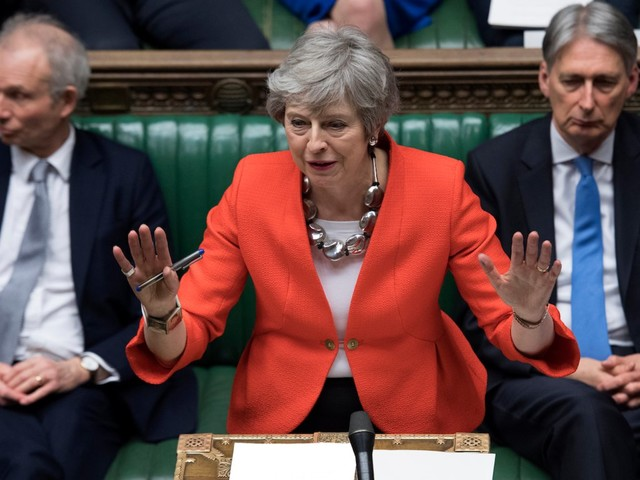 Theresa May's Brexit deal rejected by MPs in landslide Commons defeat