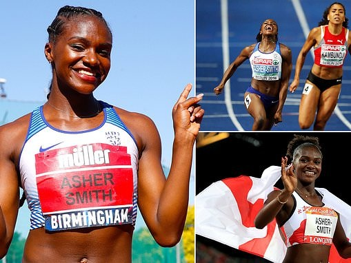 Dina Asher-Smith's hero is Michelle Obama... now she wants to be the first lady of sprinting
