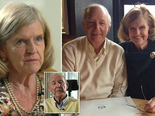 Wife of British man, 80, who ended his life at Swiss Dignitas clinic slams UK's legal system