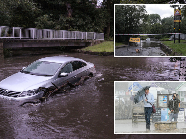 UK weather – Britain to be battered by more floods and storms as Met Office weather warnings predict travel chaos
