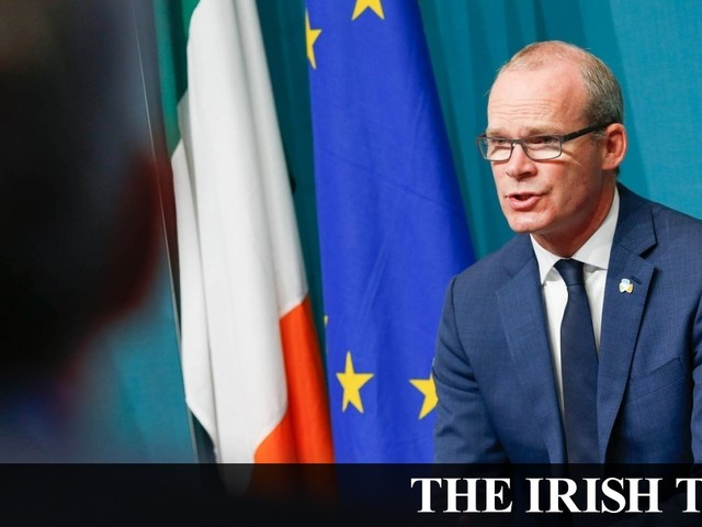 Brexit: Coveney says DUP cannot be allowed to veto agreement