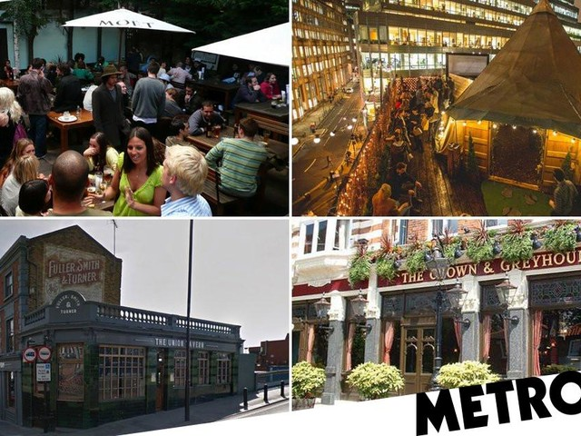 London's best beer gardens and terraces to drink outdoors at the pub during tier two