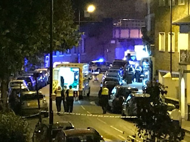 Man stabbed to death outside Parsons Green tube station in London and two others hospitalised after horrifying knife attack
