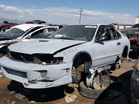 Junkyard Find: Furiously Modified 1995 Honda Accord Coupe