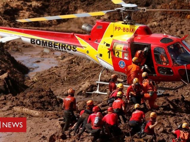 Brumadinho dam collapse: Eight arrests at Brazil's Vale