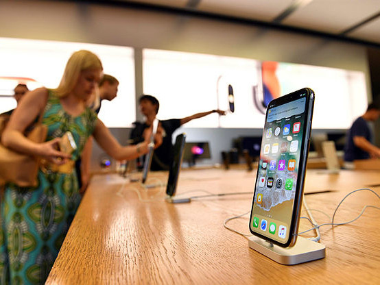Apple delivers higher profit as iPhone X launches