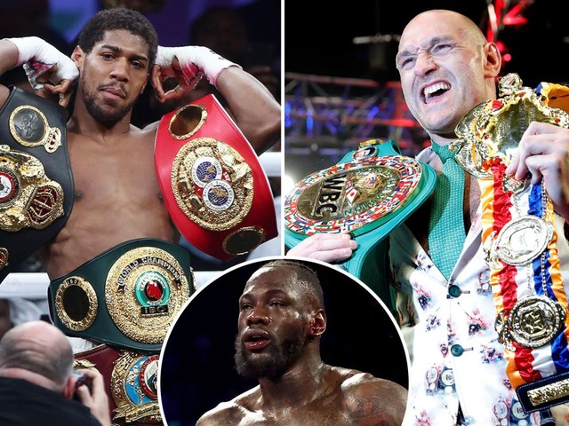 Ring Magazine's top 10 heavyweights revealed with Tyson Fury first and Deontay Wilder plummeting to FOURTH in rankings