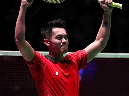 Dan's the man: Lin stuns old rival Lee Chong Wei at All England