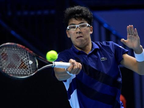 Chung powers into Next Gen semi-finals