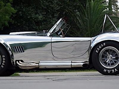 1965 Kirkham 427 S/C Roadster Looks Like a Mimetic Polyalloy Work of Art