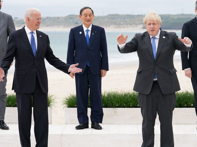 G7 Leaders Fall Short Of Directly Sharing 1bn Vaccine Doses Around The World
