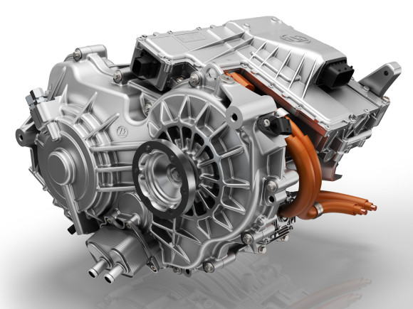 ZF presents new electric 2-speed drive for passenger cars