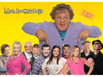 Mrs Brown's Boys to appear at Metro Radio Arena, Newcastle upon Tyne in June