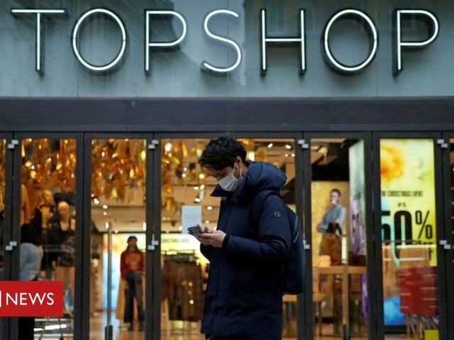 Arcadia set to shut 31 shops with loss of 700 jobs