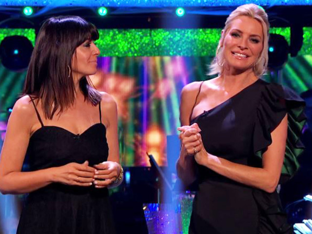 Here's where to get Tess Daly and Claudia Winkleman's glam black Strictly dresses for less