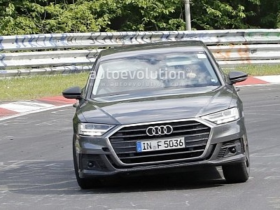 2020 Audi S8 Goes Sideways on the Nurburgring, Looks Ready for Production