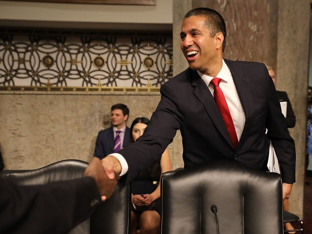 The FCC repealed net neutrality — and cable companies fell (CMCSA, TMUS, TWX, S, VZ, CHTR)