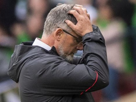 Hearts: Concentration lapses cost us, says Levein after cup final loss to Celtic