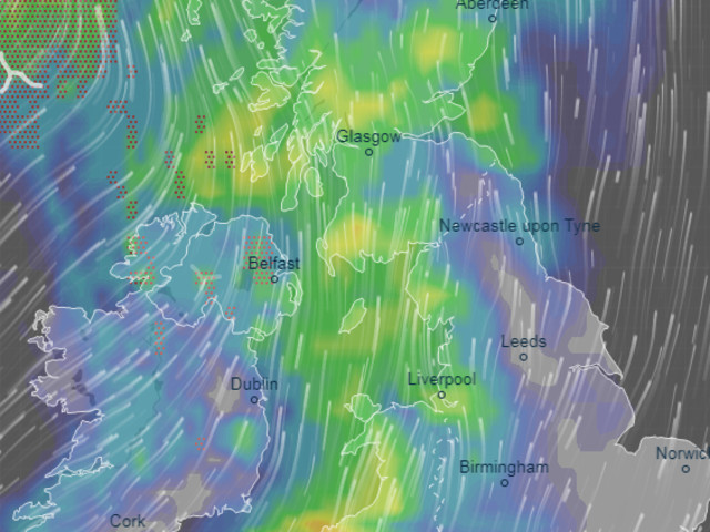 UK weather forecast – Month's rain to fall in 3ins deluge today before Bank Holiday scorcher