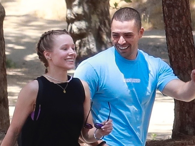 Kristen Bell Hugs It Out with Benjamin Levy Aguiler After Hiking Together