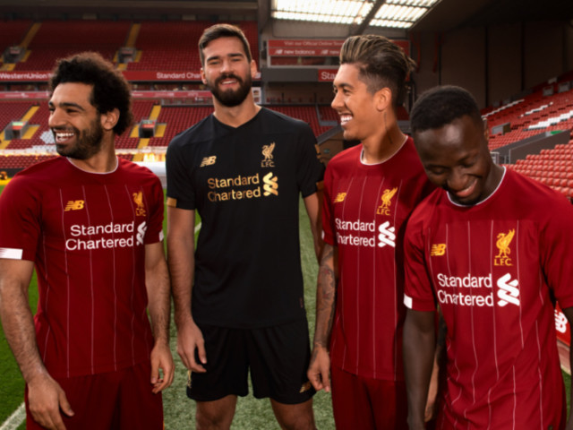 An Homage To Bob Paisley, Liverpool Launch New Pinstriped Home Kit Inspired By Their Own 1982/83 Vintage (Photos)