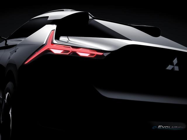 Mitsubishi e-Evolution Concept for Tokyo is a New Kind of Evo