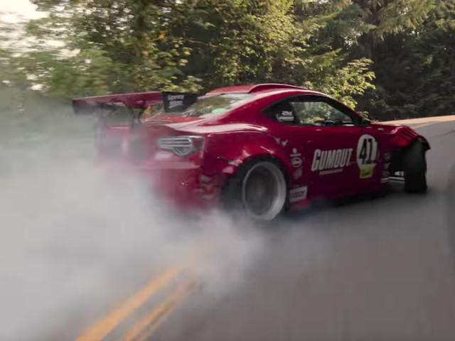 Watch Drifter Ryan Tuerck Crash his Ferrari-Powered GT86