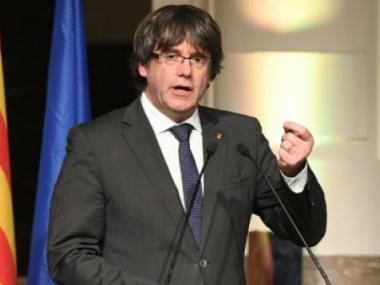 Axed Catalan leader slams EU for 'helping' Spanish PM