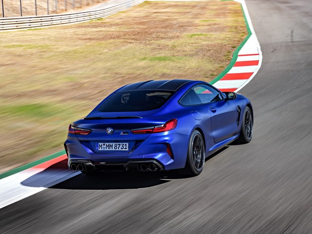 BMW and Pirelli worked on custom P Zero tires for the new M8