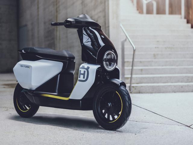 Husqvarna Vektorr concept electric scooter unveiled