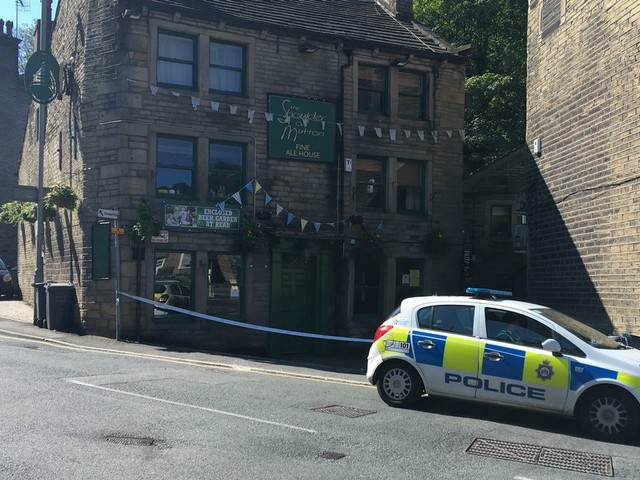 Man on bike could hold clue to catching thug who left pub goer with fractured skull