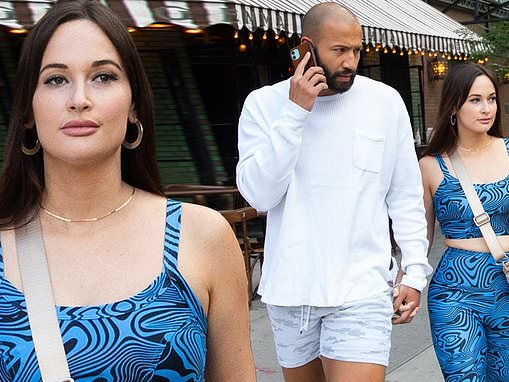 Kacey Musgraves strolls hand-in-hand with new beau Cole Schafer in New York City